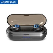 Anomoibuds капсула Pro IP010-X 50 часов Playtimes AAC наушники-вкладыши TWS с Беспроводной наушники Bluetooth V5.0 Наушники Hi-Fi для Xiaomi