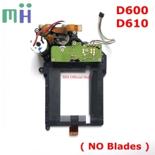 שני יד עבור ניקון D610 תריס יחידה עם מנוע (לא להב) עבור ניקון D600 מצלמה החלפת חילוף חלק