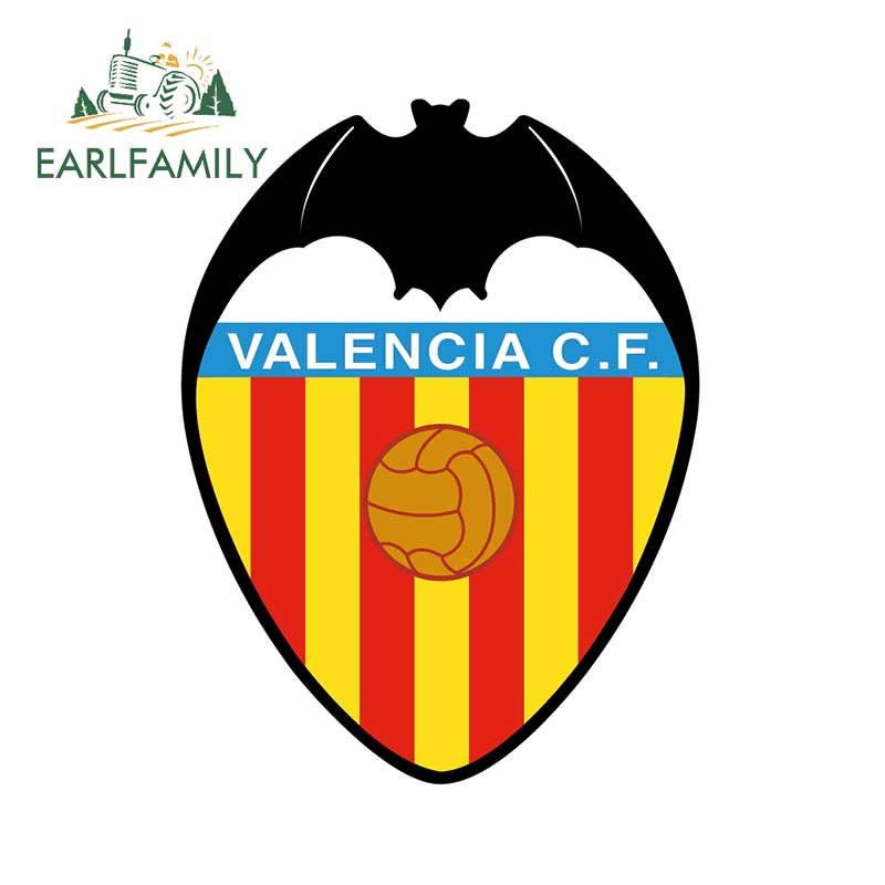 EARLFAMILY 13cm X 9.9cm Car Stickers And Decals For Valencia Vinyl Car Assessoires Trunk Bumper Laptop Waterproof Sticker