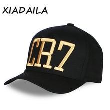 Cristiano Ronaldo CR7 baseball cap cotton adjustable 3D embr