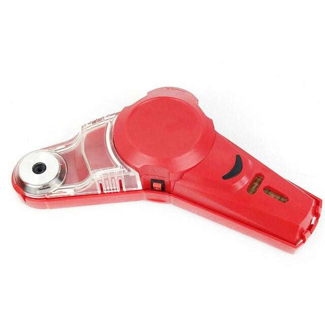 Di trasporto di alta Qality Nuovo Trapano Compagno Cordless Collettore di Polveri Con Laser a Livello di Bolla Fiala FAI DA TE Strumento Laser a Livello di Collettore