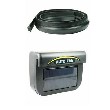 1 set  Automobile exhaust fan solar car environmental protection cooler Interior Exhaust