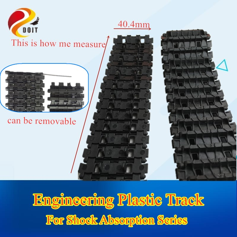 Model-Chain Tank-Accessory Track Robotic DOIT Smart-Car Plastic Clawler for Damping Rc-Toy
