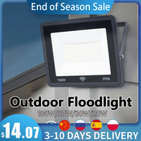 LED Flutlicht mit Radar Motion Sensor 100W 50W 30W 20W Wasserdichte Außen Beleuchtung Auto Zeit Verzögerung mit Licht sensor Wand Lampe
