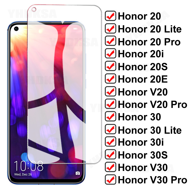 Защитное стекло для honor view 20 Lite 20E 20i 20 S V20 30 Lite 30i 30S V30 Pro