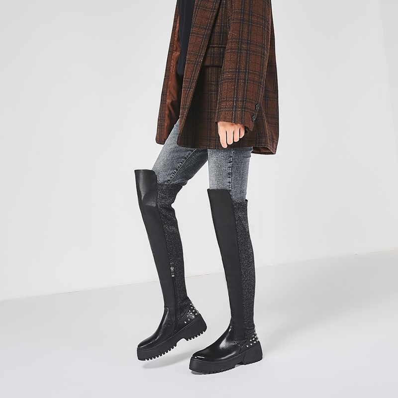 доставка; Модные женские классические ботинки австралийском стиле; зимние ботинки из натуральной овечьей кожи на нескользящей резиновой с... - 2