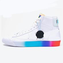 Air 1 Mid 77 Vintage Have A Good Day Red mid-top casual sports skateboard shoes for men Unisex women Sneaker Video game pixels