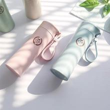 Nordic Style Wheat Straw Water Bottle Fashionable Creative Drinking Travel For Outdoor Utensils