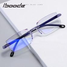 Iboode-1,0-1,5-2,0-2,5-3,0-4,0 gafas graduadas para miopía clásico Anti-Luz Azul receta anteojos ópticos los hombres de las mujeres