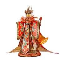 Piececool Wedding Dress 3D Metal Model Kits DIY Assemble Puzzle Laser Cut Jigsaw Toy P131