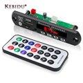 Беспроводной Bluetooth MP3-плеер Kebidu, Плата декодера WMA MP3, кардридер, модуль Bluetooth, аудио, автомобильные аксессуары с FM-радио