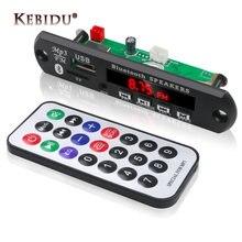 Kebidu MP3 Jogador Sem Fio Bluetooth Bordo Decodificador WMA MP3 Leitor De Cartão Do Bluetooth Módulo de Áudio Acessórios Do Carro Com Rádio FM