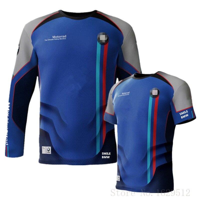 2020 New Motorrad Motorsport Motorcycle Jersey For Bmw Bicycle T-shirt Motorbike Motocross MX Dirt Bike Cycling Jersey