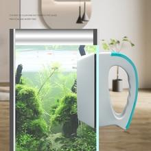 Магнитная Щетка для аквариума, стеклянный скребок для пыли и водорослей, плавающая кривая, супер магнит, Волшебная стеклянная щетка