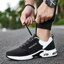 men Vulcanize shoes casual trainers Air sole Breathable Non-Slip Running Shoes Mesh Running Shoes for Men fashion sneakers original xiaomi mijia freetie ultra light running shoes men s city sneaker air mesh breathable eva sole stylish casual shoes