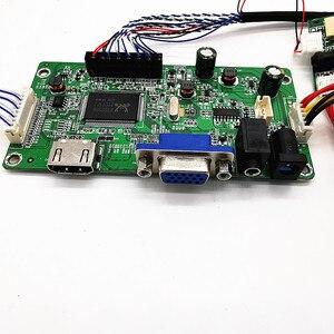 Image 4 - 4K HDMI LVDS בקר לוח עבור iPad 3 4 9.7 LP097QX1 SPA1 SPAV SPC1 2048x1536 EDP אות 4 נתיבים 51 סיכות LCD תצוגת לוח