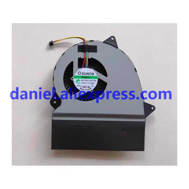 For SUNON MAGLEV MF75120V1-C251-S9A DC 5V 2.25W CPU fan image