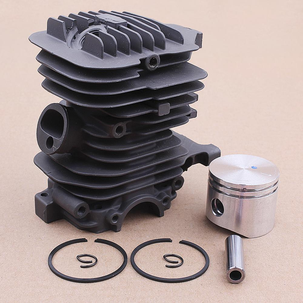 40MM Cylinder Piston Ring Pin Kit For OLEO MAC 941 GS410 EFCO 141SP 141 SP Chainsaw Replace OEM   50172021