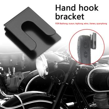 3M Metal Hook Hand Microphone Hanger Bracket Car Platform Outdoor Anti-resistance Repairing Parts for Yaesu Wouxun 7900 1