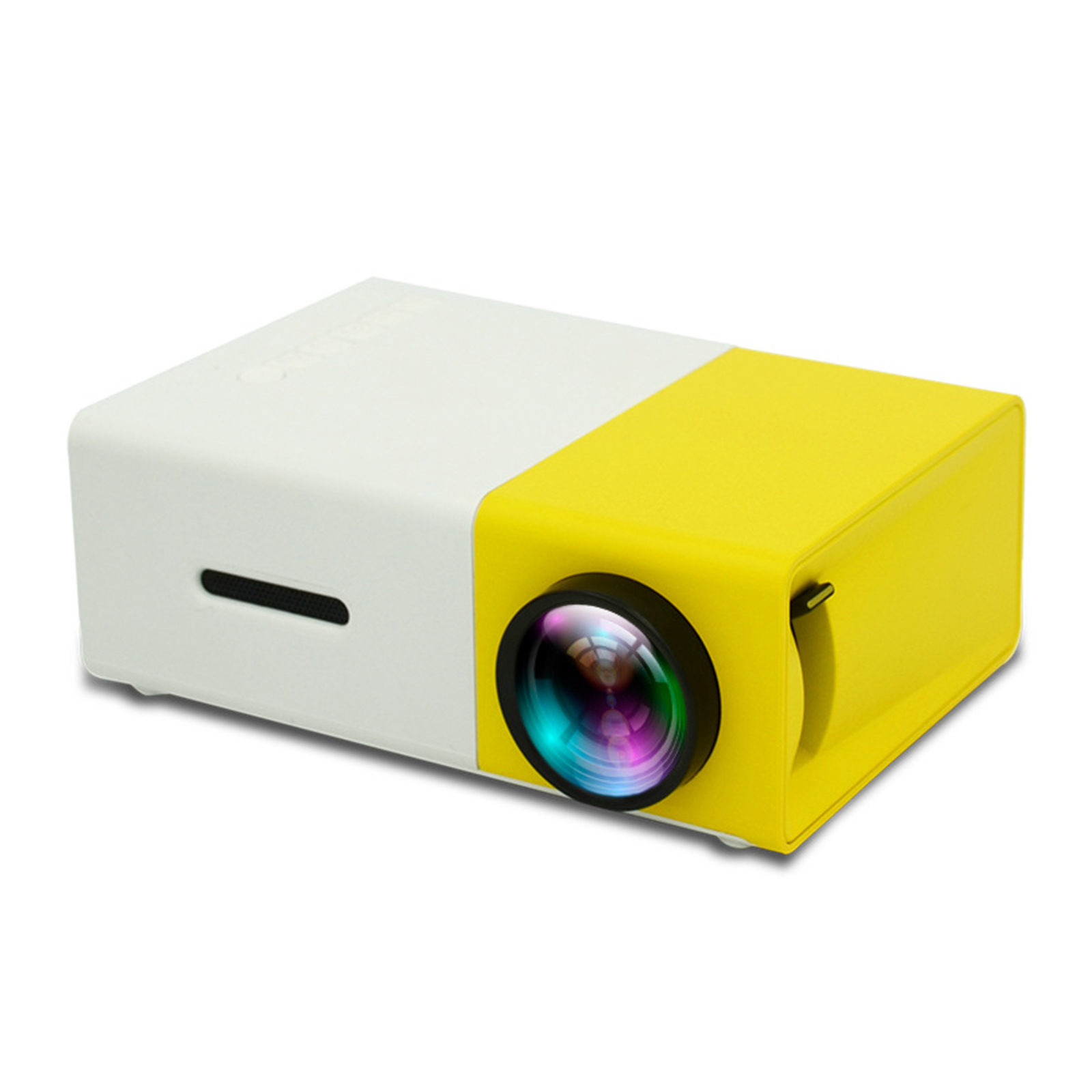Portable LED Video Projector Home Theater 1080P Movie Projector with Remote Controller Support U-disk/HDMI-compatible/TF Card EU