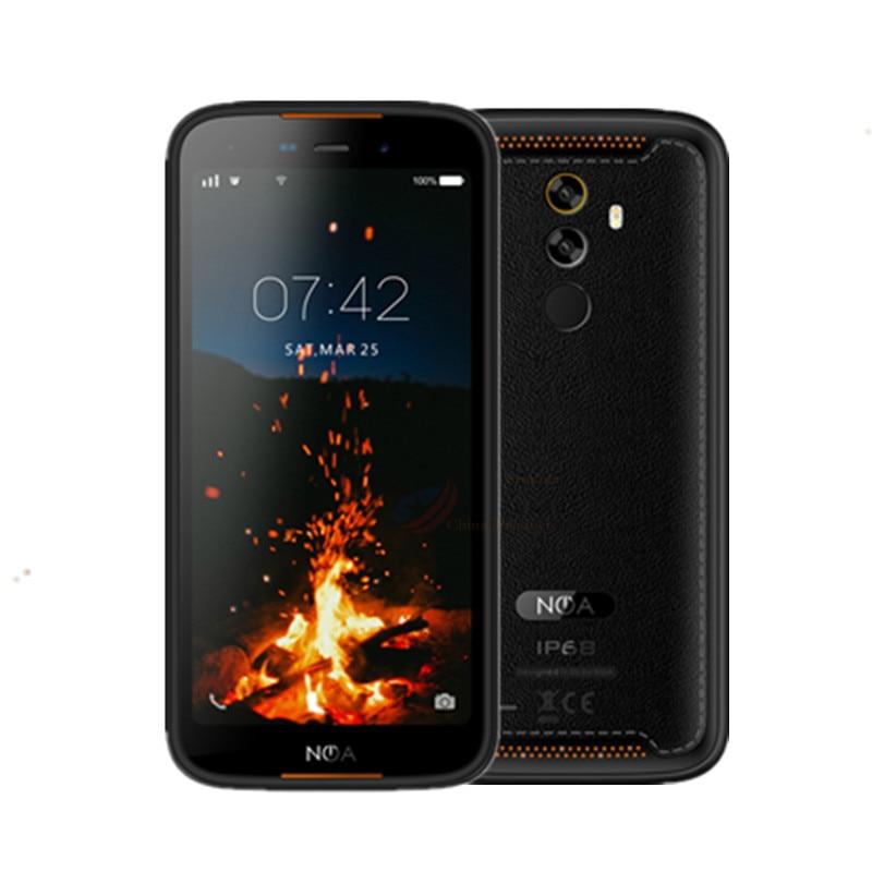 Смартфон IP68, Android 9,0, NFC, 3 ГБ, 16 ГБ, 5,5 дюйма, мобильный телефон, 1080P, сканер отпечатка пальца, стекло OTG, ударопрочный большой сотовый телефон 2019