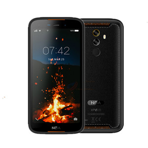 2019 IP68 Smartphone Android 9.0 NFC 3GB 16GB 5,5'' Mobile Phone 1080P Fingerprint Corning Glass OTG Shockproof Big Cellphone