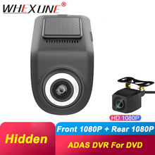 Dvr-Camera LDWS Android-Os-System Dual-Lens ADAS WHEXUNE Digital-Video-Recorder Hidden