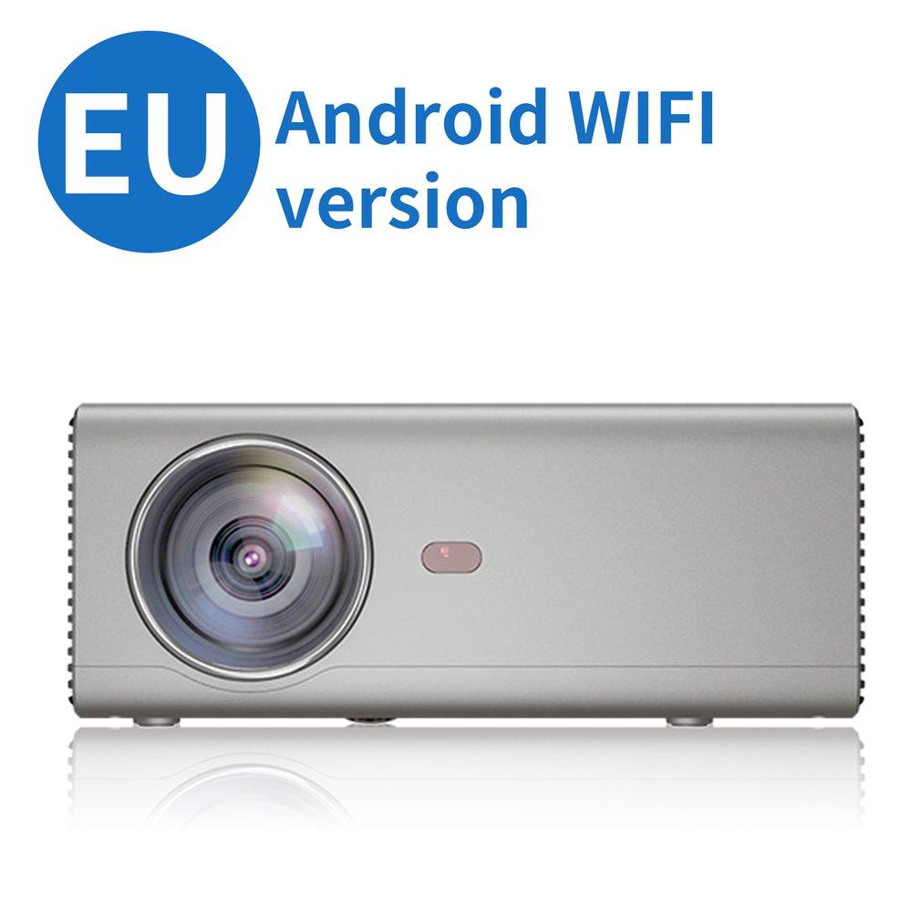 Rd825 projecteur projecteur à LED portable prend en charge Hd 1080P téléphone Mobile même écran et Wifi intelligent fonction maison Version
