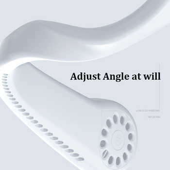 Hanging Neck Fan Portable Small Fan Ultra-quiet Student Dormitory Office Folding Small Wind Power Handheld
