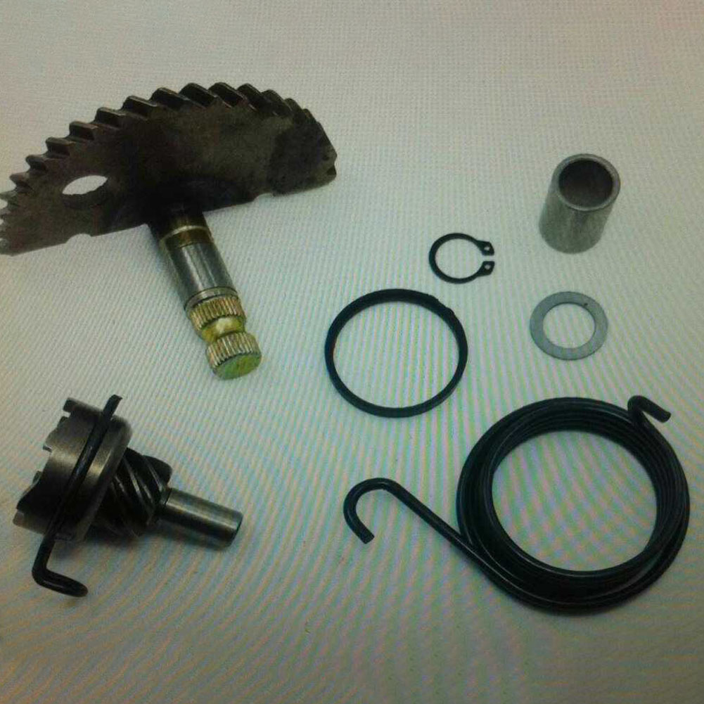 Scooter Accessories Single Cylinder Parts Durable Starter Gear Kit Replacement Kick Start Motorcycle Engine For GY6 50cc 80cc
