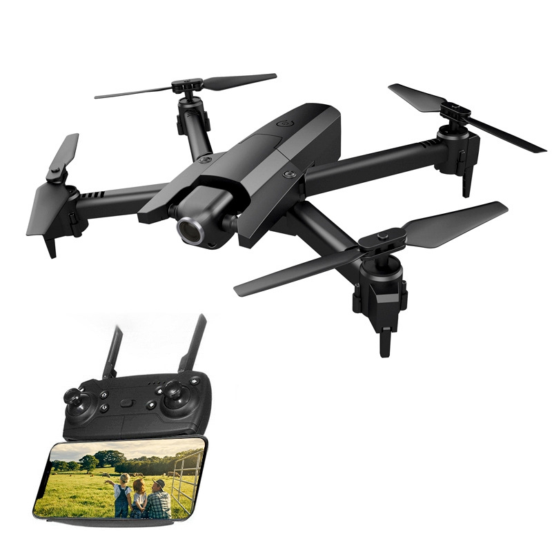 FULL-Global Drone <font><b>GW106</b></font> RC Drone Quadcopter with 4K HD WiFi FPV Camera Hight Hold Mode Quadrocopter Foldable Arm Helicopter Chil image
