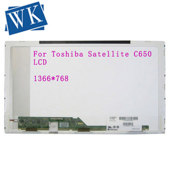 """For Toshiba Satellite C650 C650D L650 L650D Laptop LCD Screen LED Display Replacement 15.6"""" HD 1366X768"""