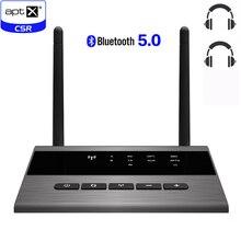 TV PC Receiver Audio-Music-Transmitter Bluetooth 5.0 Aptx Long-Range Wireless-Adapter
