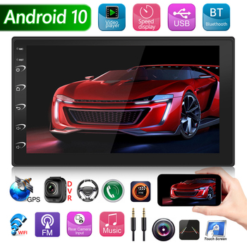 9216B 7 inch Display Android 10 Car Radio GPS AUX USB Multimedia Video Player Multi-functional Car Vehicle Accessaries Supplies image