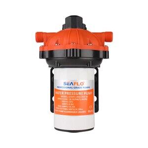 Image 4 - SEAFLO 12V 5.5 GPM 70 PSI Washdown Deck Pump KIT Rv Boat Marine Self Priming 5 Chamber positive displacement diaphragm pump