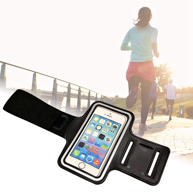 New Running Bags Men Women Armbands Touch Screen Cell Phone Arms Band Phone Case Sports Accessories