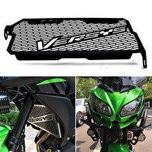 อุปกรณ์เสริมรถจักรยานยนต์หม้อน้ำสำหรับKawasaki Versys 650 ตะแกรงป้องกัน 2015 2016 2017 2018 2019 2020