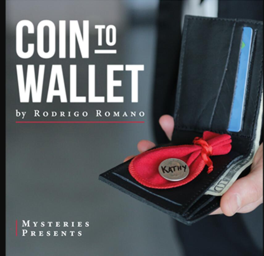 2020  Coin To Wallet By Rodrigo Romano, Magic Instruction,Magic Trick