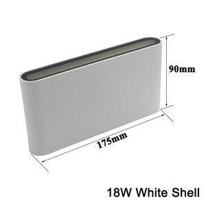 Image 5 - 북유럽 LED 벽 Sconce 옥외 점화 Decotration 계단 정원 포치 빛을위한 방수 IP65 알루미늄 AC85 265V