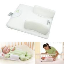 幼児新生児アンチロール枕究極ベン固定ポジショナウエストサポート防止フラットヘッドクッションベビーケア