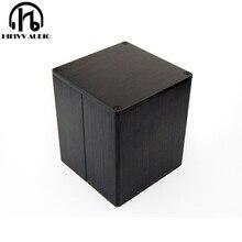 Квадратная Крышка трансформатора внешний размер 90*90*100 мм черная металлическая фотография