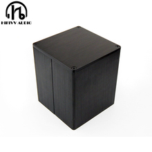 Square transformer cover the external size is 90*90*100mm balck metal Metal Shield cover
