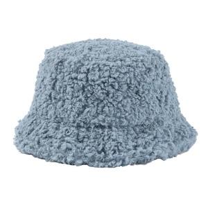 Image 5 - USPOP Winter frauen eimer hüte weiblichen candy farbe lamm haar eimer hüte süße dicke warme hüte