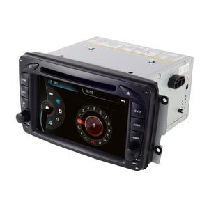 Image 5 - 2din 7 inch CAR DVD PLAYER For Mercedes Benz CLK W209 W203 W463 3g GPS Bluetooth Radio Stereo Car Multimedia Navi System