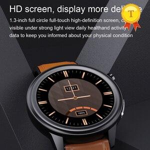 Image 1 - 2021ขายดีที่สุด HD หน้าจอ ECG Ppg สมาร์ทนาฬิกาผู้ชายผู้หญิงกันน้ำอุปกรณ์การตรวจสอบอุณหภูมิบลูทูธ SmartWatch