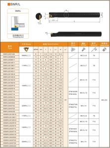 Image 5 - OYYU SNR SNR0016Q16 SNR0020R16 SNR0012M11 SNR0025S16 SNR0025S22 SNR0020R22 SNR0007J08 SNR0008K11 SNR0010K11 旋削工具ホルダ
