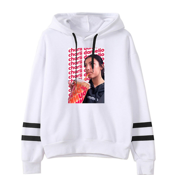 charli damelio merch Sweatshirt Men/Women Print Ice Coffee Splatter Hoodies Fashion Hip Hop hoodie Pullovers Tracksuit Clothes 25