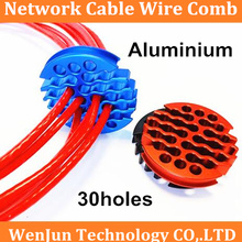 Comb Upgrade Aluminum Network-Cable for Category Wire-Harness Arrangement Tidy-Tools