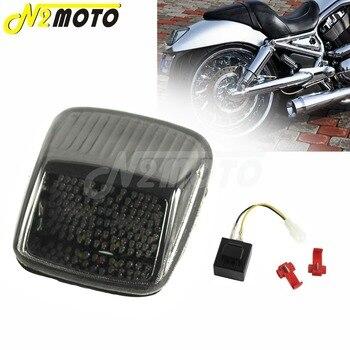 Motorcycle Integrated Taillight Turn Signal Light Arrow Indicator Tail Brake for Harley Deuce V-ROD Vrod 2002-2011