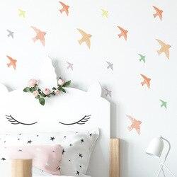 Funlife śliczne małe ptaszki pcv naklejki ścienne dla dzieci, wodoodporne DIY ściana naklejki przedszkole, dziecko sypialnia salon Kawaii dom wystrój pokoju